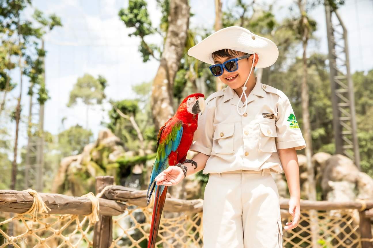 Vinpearl Safari Phu Quoc kid plays